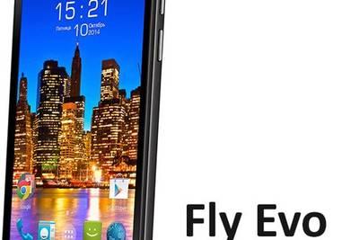 Анонсирован недорогой 4-ядерный смартфон Fly EVO Tech 4