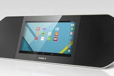 CES 2015: акустическая система Avy Smart Speaker со встроенным Android-планшетом
