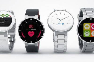 Часы Alcatel OneTouch Watch покажут на выставке CES 2015