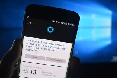 Cortana для Android потеряет часть функций