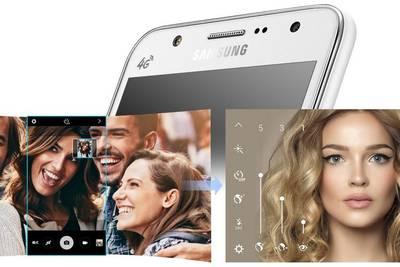 Galaxy J5 и J7 — первые смартфоны Samsung с фронтальной вспышкой
