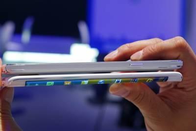Galaxy S6 может получить экран, изогнутый с двух сторон