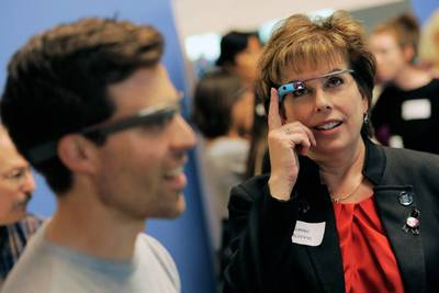 Google готовит корпоративные смарт-очки Google Glass