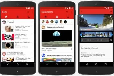 Google обновила мобильное приложение YouTube