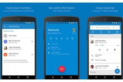 Google опубликовала «Телефон», «Контакты» и «Google Сети» в Play Store