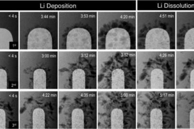 Исследователи наглядно показали, как деградирует литий-ионный аккумулятор