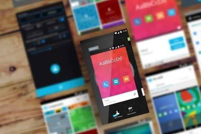Изменение тем оформления для отдельных приложений в Cyanogen