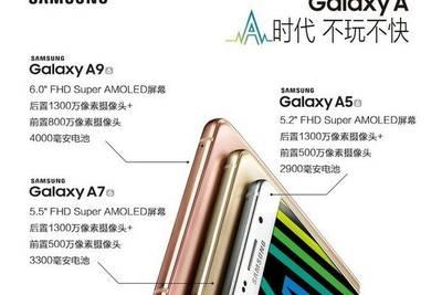 Известны характеристики 6‑дюймового Samsung Galaxy A9