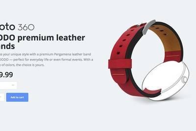 К покупке стали доступны новые кожаные ремешки DODO для Moto 360 в четырех цветах – желтовато-коричневые