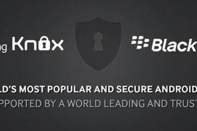 Компании BlackBerry и Samsung объявили о стратегическом партнерстве