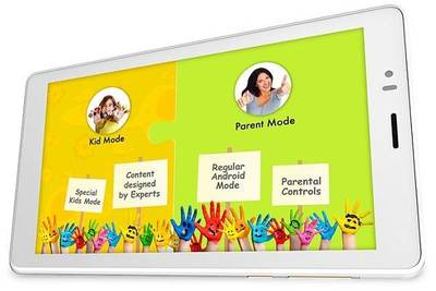 Micromax Canvas Tabby: планшет для детей и родителей