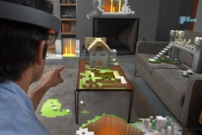 Microsoft продемонстрировала возможности «очков будущего» HoloLens