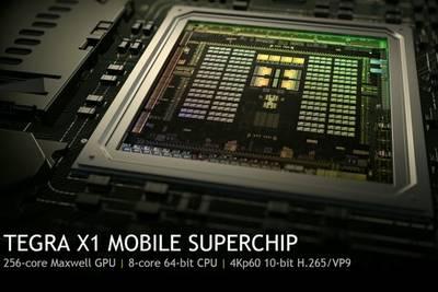 NVIDIA представила мобильный 64-битный процессор Tegra X1 с 256 графическими ядрами