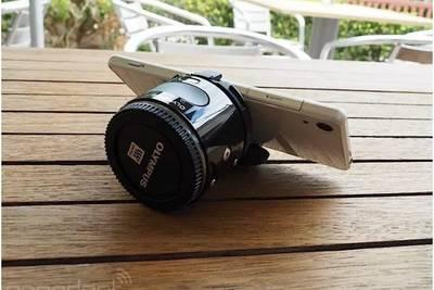 Olympus представила выносную камеру для смартфонов с поддержкой сменных объективов