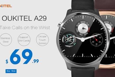 Oukitel A29 будут доступны для предзаказа за $69,99