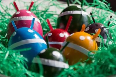 Пасхалки в Android