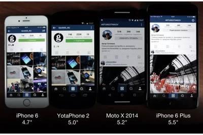 Почему от большого экрана Android-смартфона нет толку?
