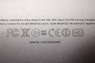 С корпусов телефонов может пропасть часть маркировки
