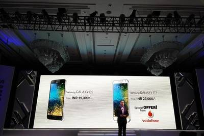 Samsung представили новую линейку смартфонов — Galaxy E