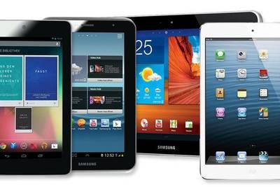 Статистика: продажи планшетов в России падают