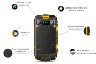 teXet X-driver Quad: новое поколение защищенного смартфона компании