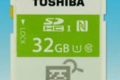 Toshiba представила первую в мире SDHC карту в мире со встроенным NFC модулем