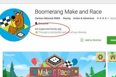 В Google Play Store пометят приложения с рекламой