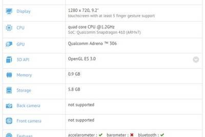 Xiaomi Mipad One: 9‑дюймовый экран и LTE за 4 тысячи рублей