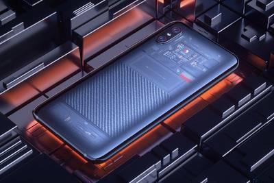 Прозрачный Mi 8 Xiaomi также имеет 3D разблокировку лица