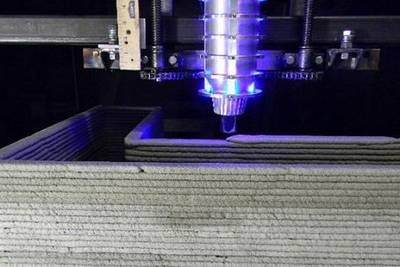 #видео | Архитектор создал свой собственный 3D-принтер для печати домов