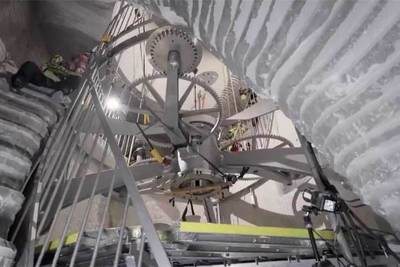 Amazon завершает строительство «вечных» часов