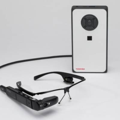 Умные очки Toshiba оснащены мини-ПК с Windows