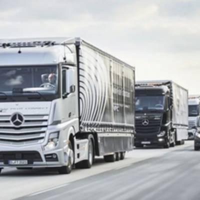 Самоуправляемые грузовики Mercedes Benz отправились в своё первое путешествие